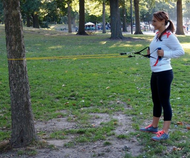 Resistance Band Arm Workout
