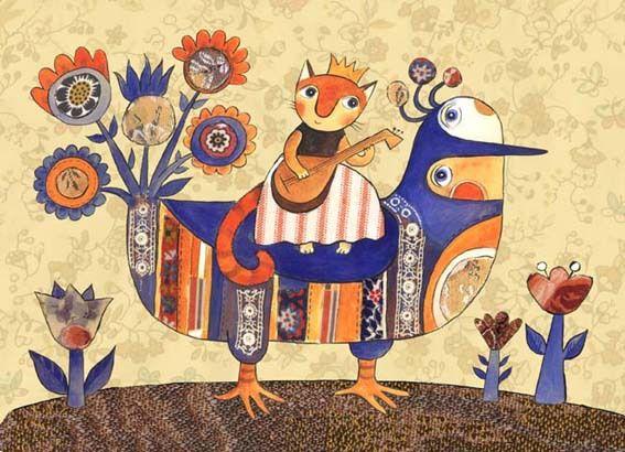 Сообщество иллюстраторов / Иллюстрации / Герасимова Дарья / Королевская птица