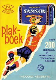 Oude Nederlandse reclameposters Samson shag