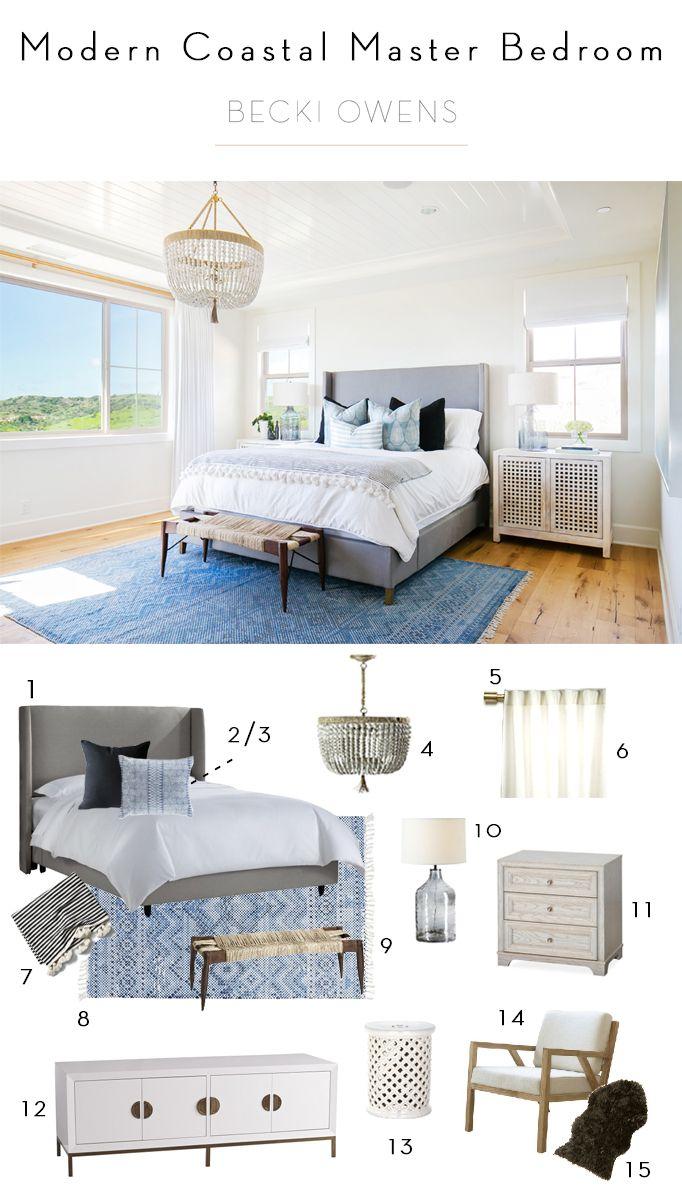 Best 25+ Coastal master bedroom ideas on Pinterest | Ocean color ...