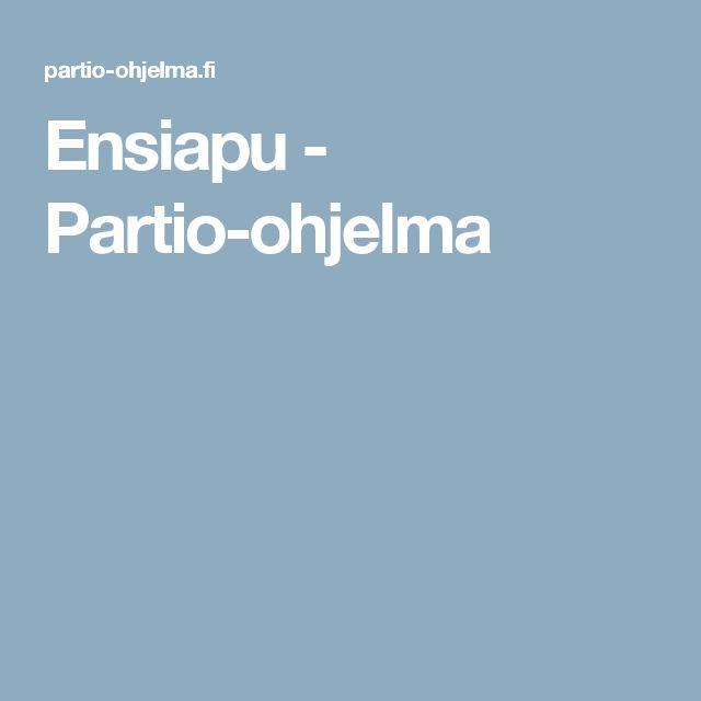 Ensiapu - Partio-ohjelma
