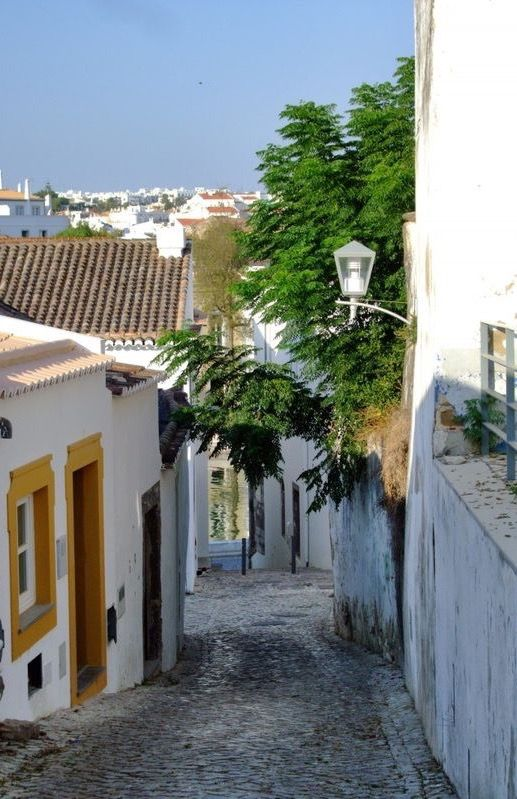 Tavira, a city at the mouth of the Gilão River. This quiet and pretty little town is a relaxing vacation destination.