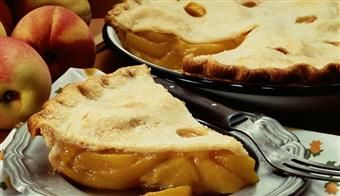 Fresh Peach Pie, Karo Syrup