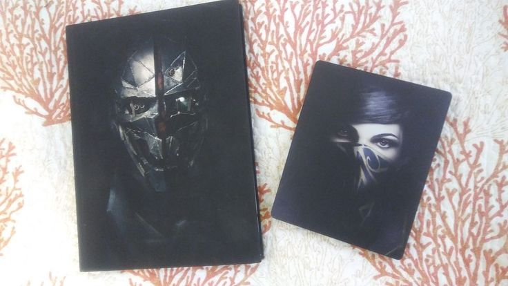 Dishonored 2 Xbox One Collectors Edition Steelbook & Hardcover Guide
