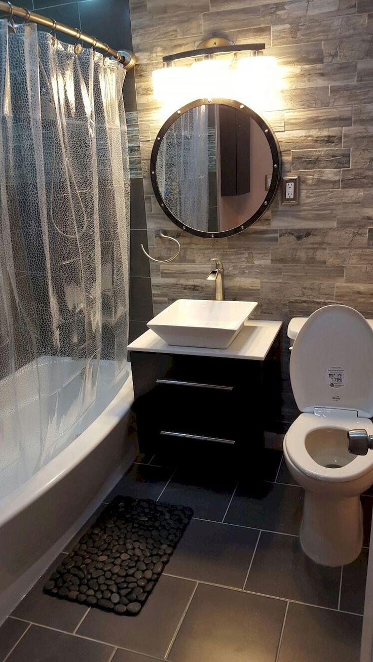 Best 25 small bathroom tiles ideas on pinterest for Cool small bathroom ideas