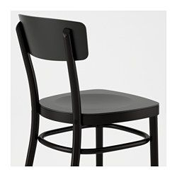 IKEA - IDOLF, Chair, You sit comfortably thanks to the shaped back.