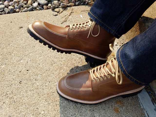 64112bc409 Alden Indy Boot - Natural Chromexcel with Lug Sole