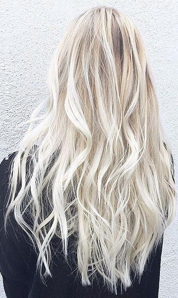 I'd love to go platinum when my hair grows longer