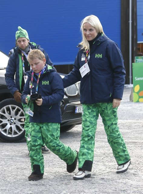 The Norwegian Royal Family attended the opening of the Lillehammer 2016 Winter Youth Olympic Games in Norway