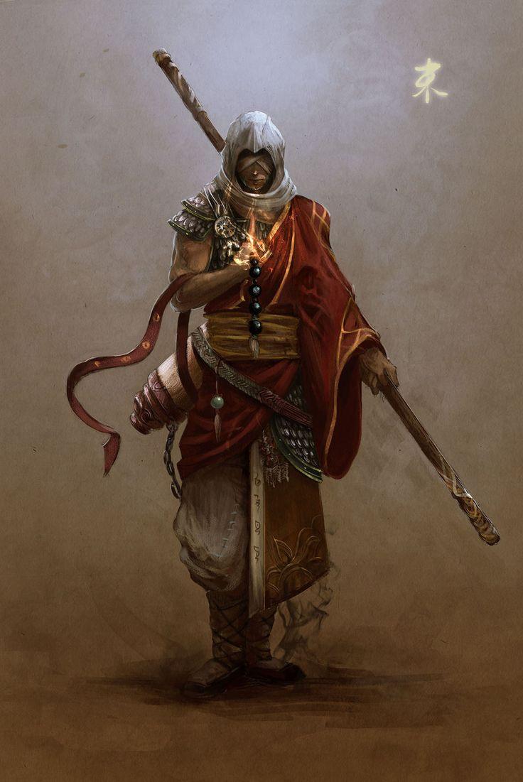 Monk | Artist Unknown                                                                                                                                                     Mais