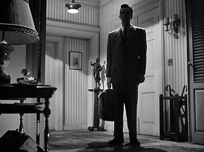 "Michael Rennie in ""The Day the Earth Stood Still"" (Robert Wise, 1951)"