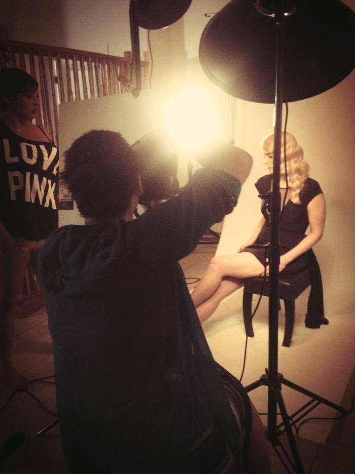 @ARTISTSSALON 2014 PHOTO SHOOT with @Robin S. Gartner & model Nicole.