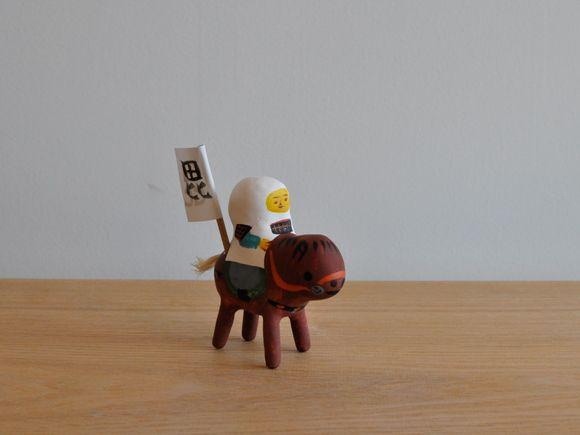 琉球張り子『謙信くん』- 豊永 盛人 (玩具ロードワークス) - CARGO web shop