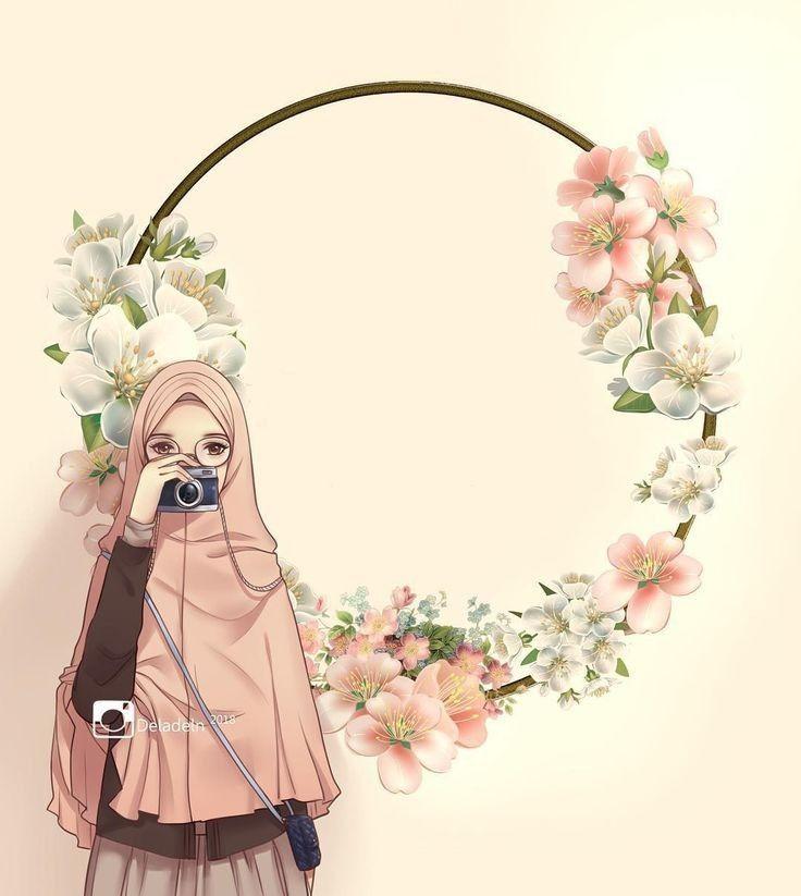 Hijabers Fanart Islamic Cartoon Girls Cartoon Art Islamic Artwork