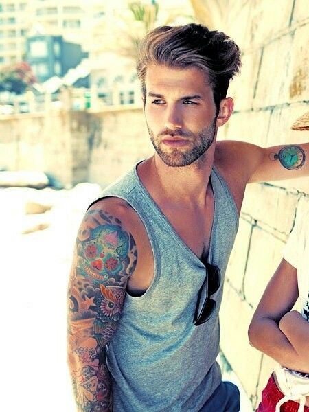 Andre Hamann, hot & awesome tattoos