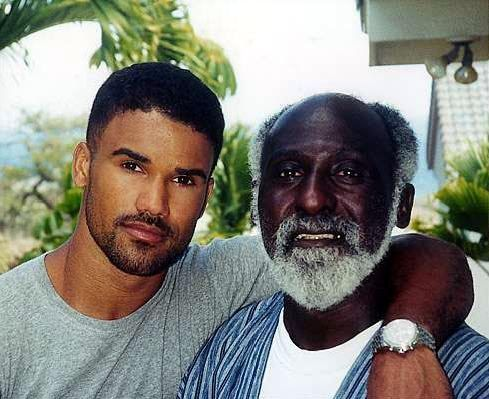 Shemar Moore and dad Sherrod Moore