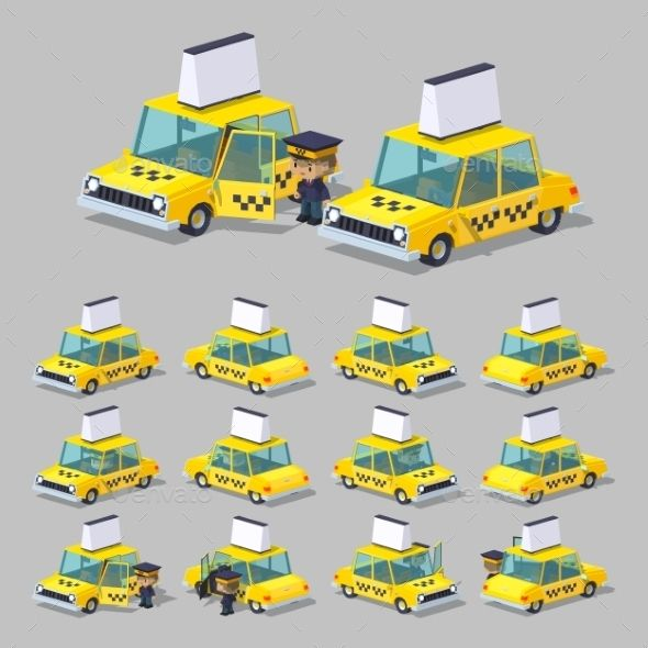 Cube World. Yellow Taxi
