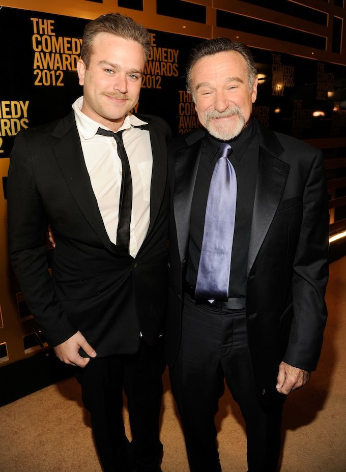Robin Williams with son Zak