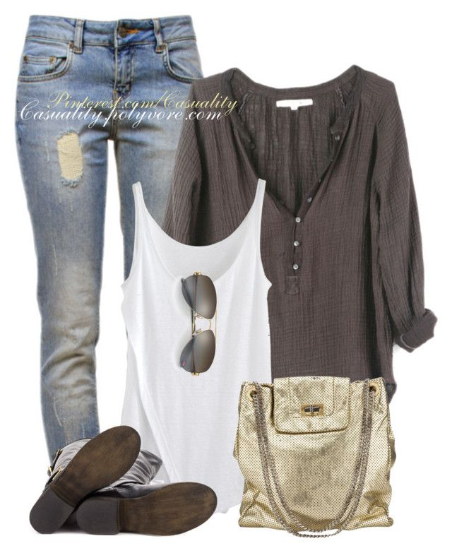 Rustic Chic by casuality on Polyvore featuring Xirena, Anine Bing, Steve Madden, Chanel, Tiffany & Co., rustic and vintage