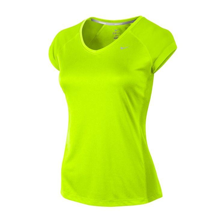 Nike Miler V-Neck Top | Laufshirts | Damen | 21run.com | UV-Schutz  #nike #running