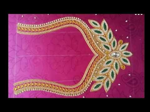 aari embroidery tutorial in tamil