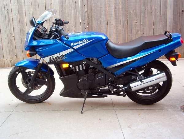 <3 My Kawasaki Ninja 500 R