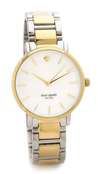 Kate Spade New York Двухцветные часы-браслет Gramercy