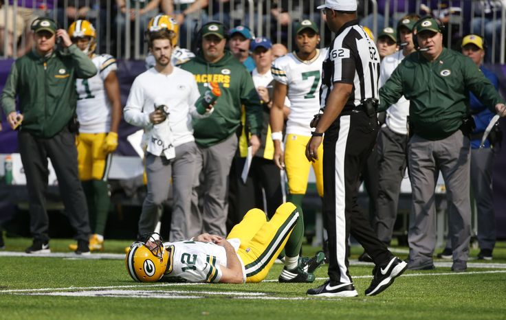 #RODGERS #DOWN... AND OUT