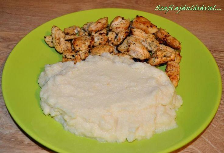 Éhezésmentes Karcsúság Szafival: Zellerpüré sült csirkemellel (paleo recept)