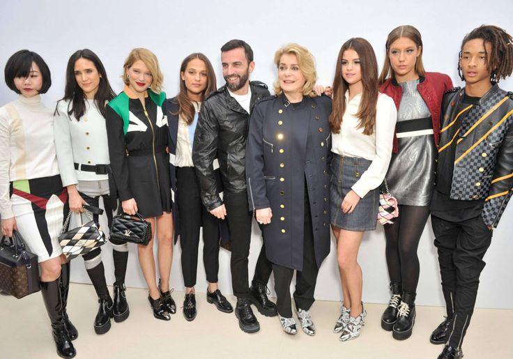 First row : toutes les photos des premiers rangs des défilés de la Fashion Week de Paris - Elle