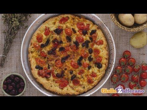 Focaccia barese, la ricetta di Giallozafferano - YouTube