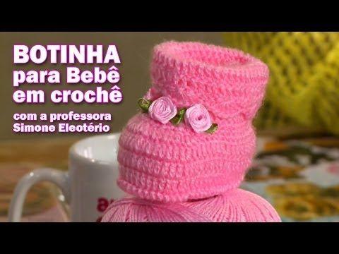 DIY - Professora Simone (Sapatinho de Bebê) - YouTube