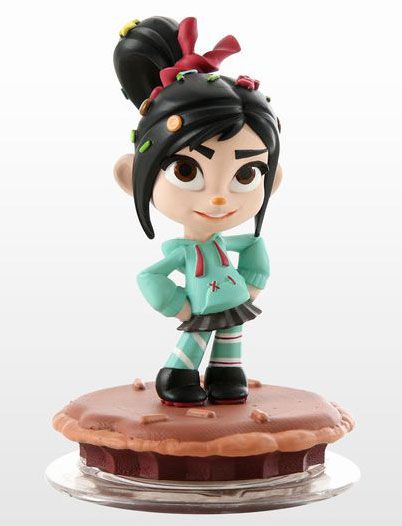 AmiAmi [Character & Hobby Shop] | 3DS/WiiU Disney Infinity Character Figure - Vanellope(Released)