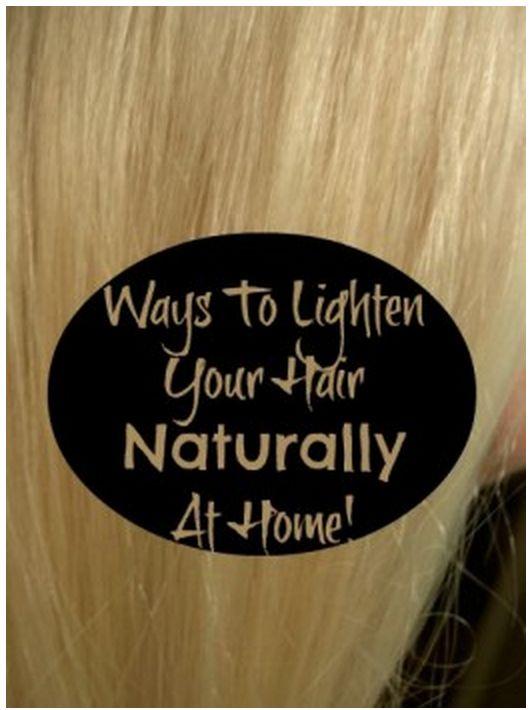 How To Lighten Blonde Hair Naturally In Winter