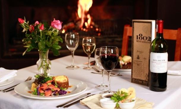 Restaurant 1802 at Oude Werf Hotel | Stellenbosch 360