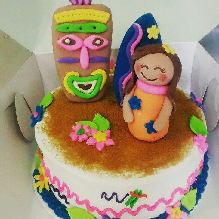 Aloha cake hawaii
