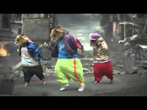 My kids love this commercial/song....KIA Soul Hamster Commercial HD - Everyday Im Shuffling Party Rock Anthem 2011