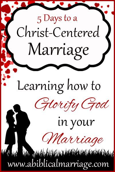 Our Christian Marriages should be firmly rooted in the Word of God. But it can be hard to know how to do that or what that should look like. Join us as we explore what a Christ-centered, God-glorifying Marriage should look like! {Plus many practical tips}