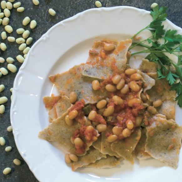 Blecs con Grana Padano e fagioli  Che ne pensate di questo piatto?  Potete trovare la ricetta completa qui:   http://bit.ly/gpricris