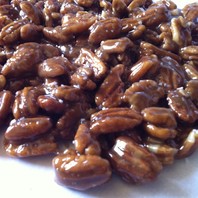 Candied Pecans | confections | Pinterest