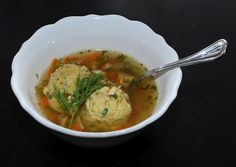 Ina Garten's Chicken Soup with Matzo Balls