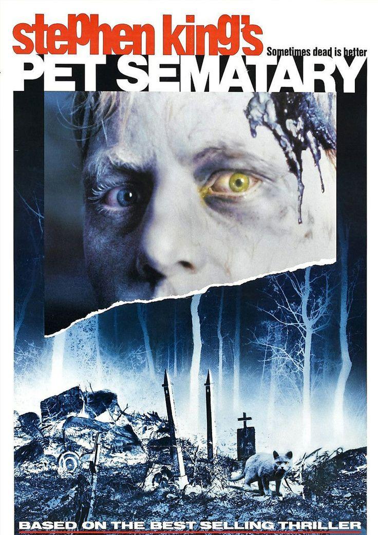 Pet Sematary – Νεκροταφείο Ζωντανών (1989) - Το «Pet Sematary» περιστρέφεται γύρω από μια οικογένεια που μετακομίζει στο νέο της εξοχικό σπίτι στην επαρχία. Κοντά στο σπίτι υπάρχει ένα νεκροταφείο ζώων και άλλος ένας μακάβριος χώρος που κρύβει σκοτεινά μυστικά. Μετά από μια θλιβερή απώλεια μέλους της οικογένειας, ο πατέρας θα φλερτάρει με τα απαγορευμένα μυστικά της περιοχής παρά τις συμβουλές του γείτονά του να μην το κάνει…