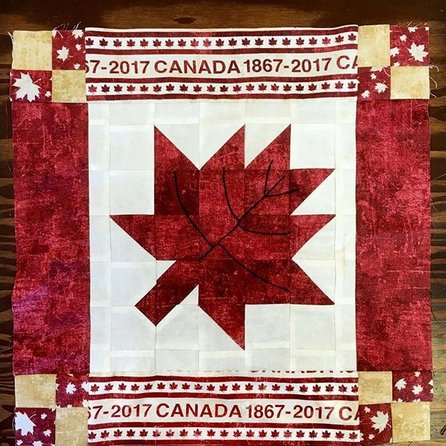 Mrs. Bobbins and the girls are at their first stop in Manitoba, the Family Fabrics shop. Mrs. Bobbins can hardly wait to get another pattern with the Maple Leaf on it! #NorthcottFabrics#NorthcottTCBP .  .  .  .  #QuiltersofInstagram#Mrsbobbins#Quiltsofinstagram#Canada#Canada150#quiltsofvalourcanada #quiltblock #sewing