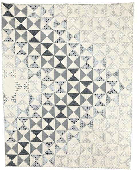 The Dimensions quilt pattern is a lesson in value, or depth of color. Regardless…