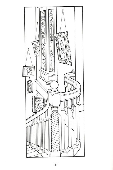 House Room Coloring Page: 33 Best Images About Victorian House Coloring On Pinterest
