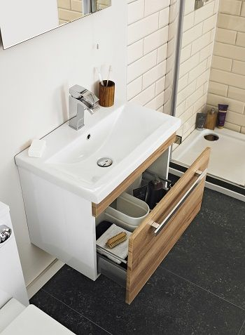 Storage tips for small bathrooms