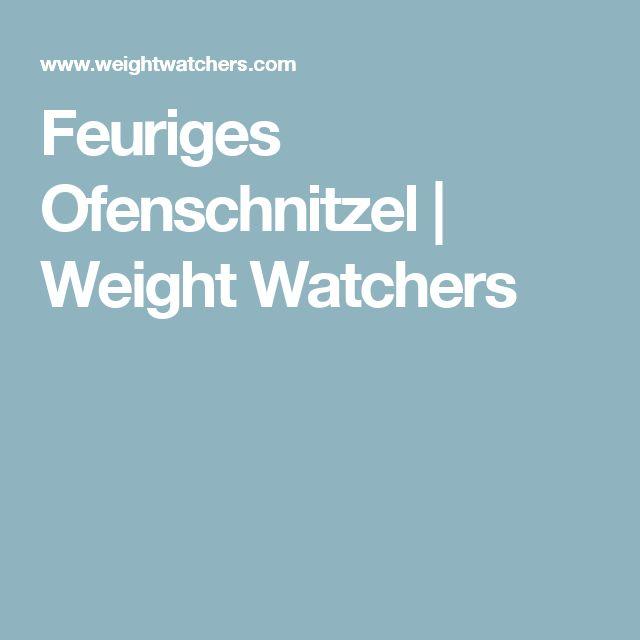 Feuriges Ofenschnitzel | Weight Watchers