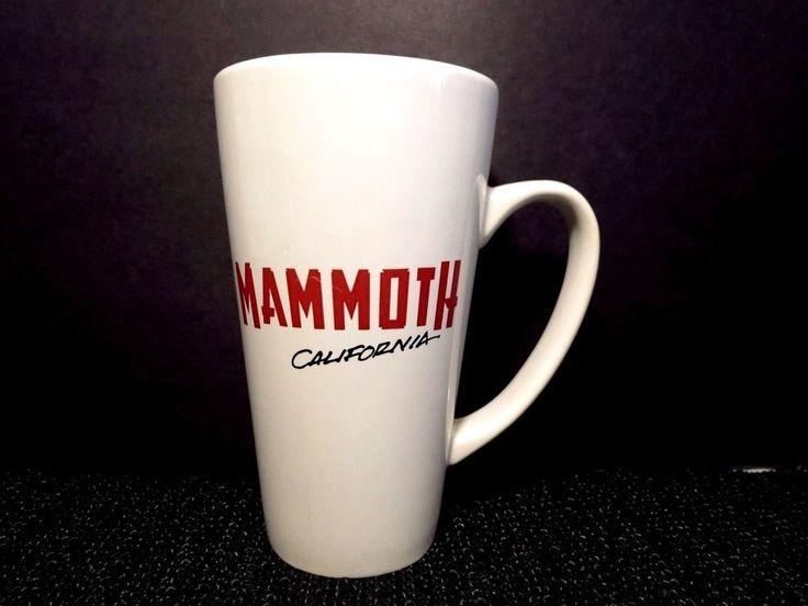 "Stoneware Coffee Tea Mug 6"" MAMMOTH MOUNTAIN VGUC California Souvenir  #Unknown"