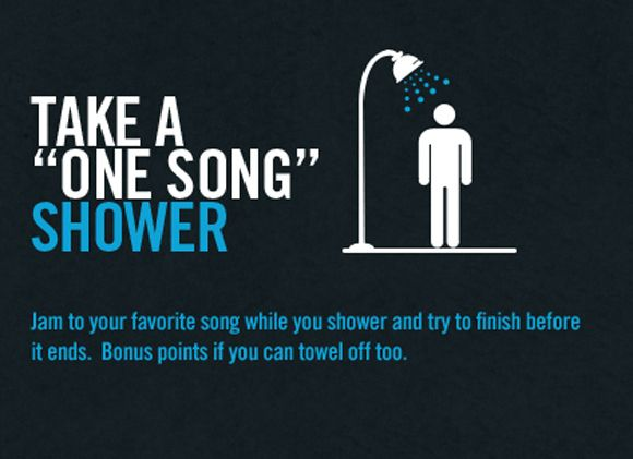 how much water can you save if you take shorter showers