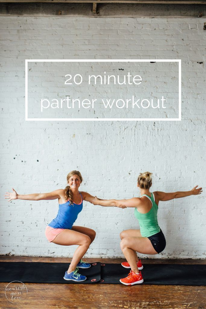 8 bodyweight exercises to do with a friend